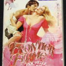 Frontier Flame romance paperback book by Rochelle Wayne romance love passion passionate story