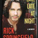 Rick Springfield Late, Late at Night