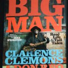 Big Man Clarence Clemons  sax saxaphone player for Bruce Springsteen clemmons hardcover book