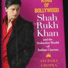 King of Bollywood Shah Rukh Khan - hardcover book - India movie star celebrity hardcover book