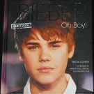Justin Bieber - Unofficial Oh Boy! pop singer book star celebrity hardcover book