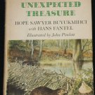1968 Unexpected Treasure - wildlife refuge bio book Hope Sawyer preserve animals hardcover book