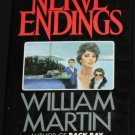 1984 - Nerve Endings - thriller novel by Martin Black hardcover book