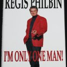 Regis Philbin - I'm Only One Man - bio biography book celebrity tv star bio hardcover book