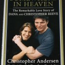 Christopher Reeve Somewhere In Heaven movie star celebrity actor hardcover book