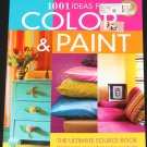 1001 Ideas for Color & Paint home decor book interior design decor decorating indoor color and paint