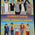 Superstars One Direction - boy band book pop music entertainers children kids teens teenagers book