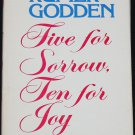 Five For Sorrow Ten For Joy catholic novel story religion religious god Christian hardcover book
