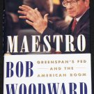 Maestro Greenspan's Fed and the American Boom - hardcover book by Bob Woodward