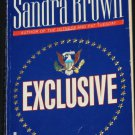 Exclusive - political thriller book by Sandra Brown paperback