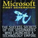 Microsoft First Generation success secrets  - computer business technology history book Cheryl Tsang