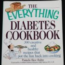 Everything Diabetes Cookbook - cook book for diabetics eating food diabetic health recipes book