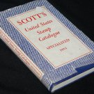 1957 Scott's Unites States Stamp Collection hardcover book