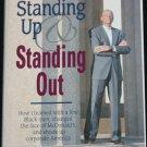 Standing Up - black men corporate achievement McDonald's African American inspiration business book