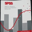 SPSS for Windows Professional Statistics Release 6.0
