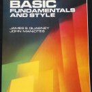 Basic Fundamentals and Style computer book