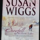 Snowfall romance book by Susan Wiggs - romantic passion love story paperback book