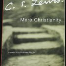 C.S. Lewis - Mere Christianity paperback book - religious reading religion writing by CS Lewis louis
