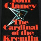 The Cardinal Or the Kremlin - spy espionage novel by Tom Clancy KGB action cold war fiction book
