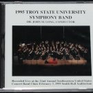 new sealed - Symphony Band CD - Troy State University 1995 music Recorded Live