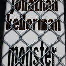 Monster - psychological thriller mystery novel book by Jonathan Kellerman