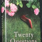 Twenty Questions - literary fiction novel - hardcover book by Alison Clement - Allison Clement
