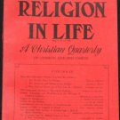 1966 Religion in Life - religious quarterly - Christian Christ God religious subjects religion book