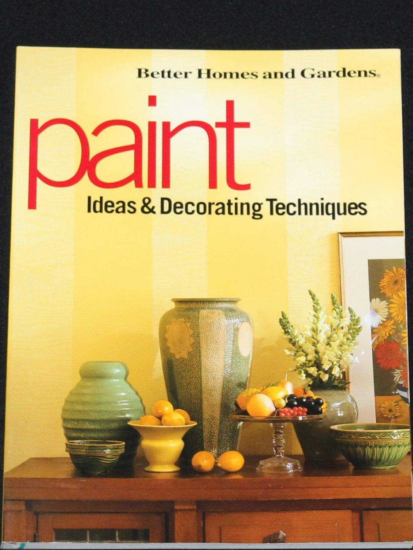 Paint Ideas Decoration Techniques