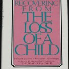 Recovering From the Loss of a Child - book by Katherine Fair Donnelly - grieving recovery book