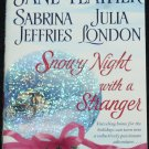 Snowy Night With a Stranger - romance novel paperback book love story by Jude Deveraux fiction book