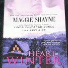 The Heart of Winter - romance book novel love story by Maggie Shayne - shane paperback book