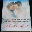 Winter Heat - romance novel paperback book love story by Susan Wiggs fiction softcover