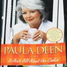 SIGNED Paula Deen - It's All About the Cookin' - biography tv cooking host paperback book