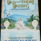 1997 War of Three Waters - fantasy adventure paperback novel book by Douglas Niles