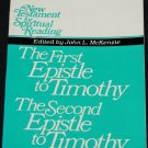 First Epistle to Timothy Second Epistle to Timothy Joseph Reuss Christian religious biblical book