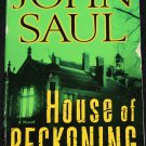 House of Reckoning horror novel - scary story book by John Saul