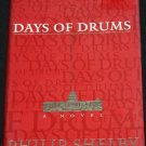 Days of Drums - suspense political thriller novel hardcover fiction book
