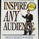 Inspire Any Audience speaking presentations - professional communication techniques book Tony Jeary