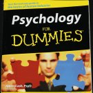 Psychology For Dummies - Adam Cash - psychological human behavior information paperback book