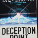 Deception Point - thriller novel by Dan Brown paperback thriller reading book read