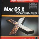 Mac OS X For Photographers instruction information softcover computer book