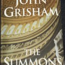 The Summons thriller suspense novel book by John Grisham paperback softcover book