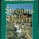 Streams In The Desert paperback book Mrs. Charles E. Cowan missionary mission Christian book