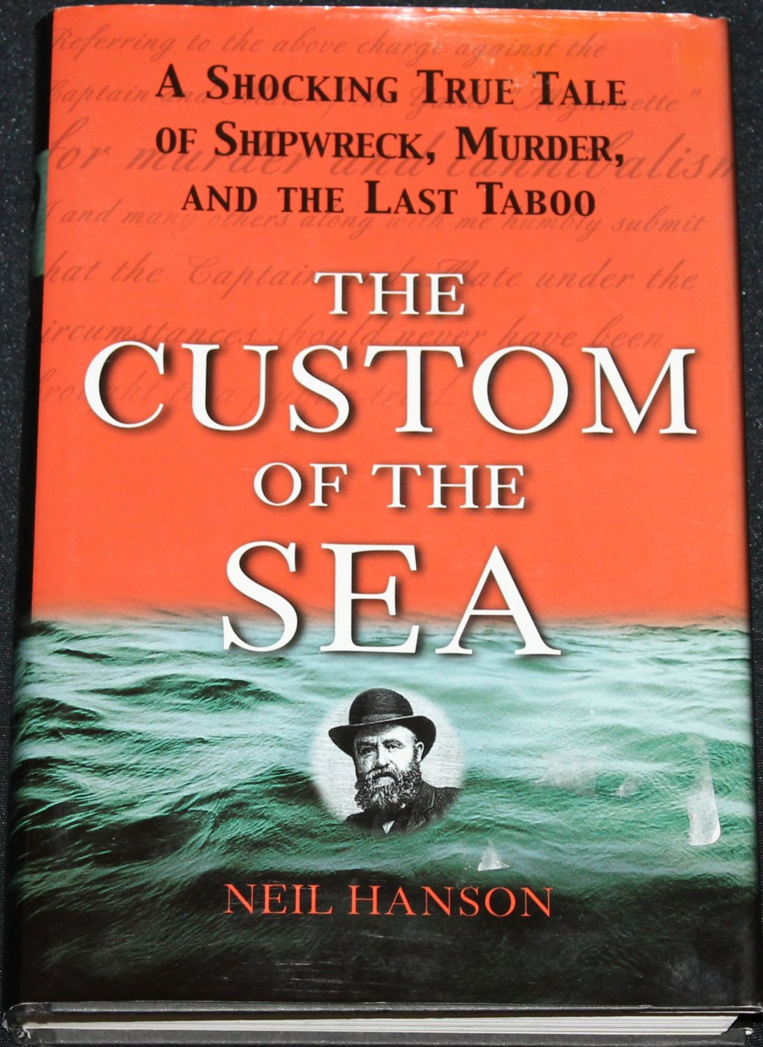 The Custom of the Sea - shocking true crime historical ocean murder sea history real crime book
