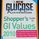 The New Glucose Revolution Shoppers Guide to GI Values - paperback book Jennie Brand Miller