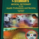 Stedman's Medical Dictionary for Health Professions and Nursing 5th edition with CD-ROM