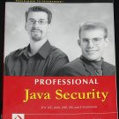 Professional Java Security book by Jess Garms JCA JCE JAAS SSL e-commerce book