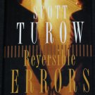 Reversible Errors legal thriller suspense novel book by Scott Turow - fiction turrow