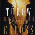Reversible Errors legal thriller suspense novel book by Scott Turow - fiction turrow