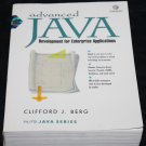 Advanced Java Book with CD-Rom J. Berg Development for Enterprise Applications computer book